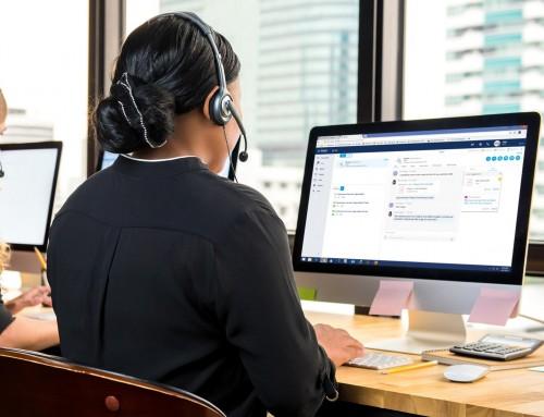Kommunikation über digitale Medien, wie Social Media, Email, Chatbots, Webchat oder Open Media im Contact Center